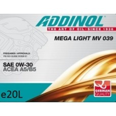Addinol Mega Light MV 039, 20л