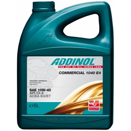 ADDINOL Commercial 1040 E4, 5L