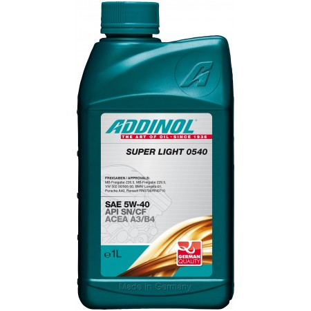 Addinol Super Light 0540, 1л