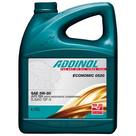 Addinol Economic 0520 5w-20, 5л