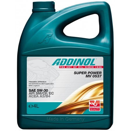 Addinol Super Power MV 0537, 4л