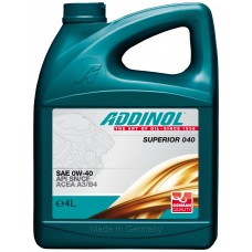 Addinol Superior 040 0W40, 4л