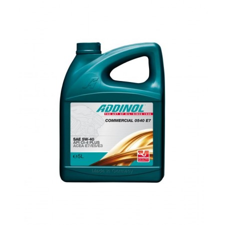 ADDINOL Commercial 0540 Е7, 5L